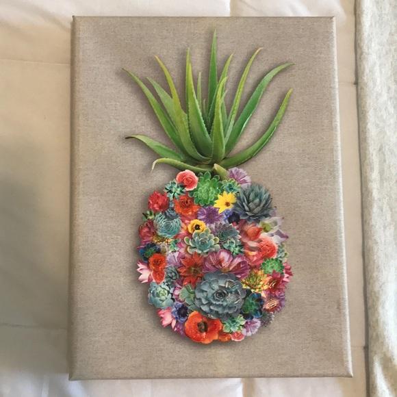 Other - Flower pineapple art